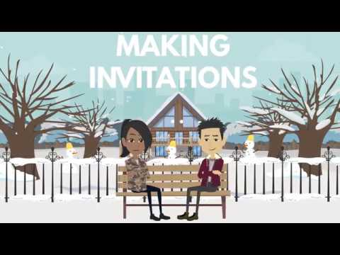 Making, Accepting and Declining an Invitation in English | Learn English Conversation