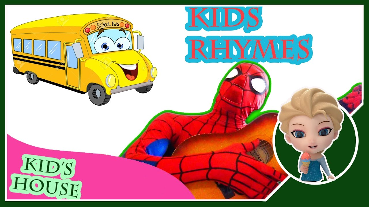 Colors Spiderman Nursery Rhymes Collection ► Top kids animation songs 2017 ► songs for kids learning