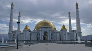 Türkmenbaşy Ruhy Metjidi - Мечеть Туркменбаши Рухы - Turkmenbashi Ruhy Mosque