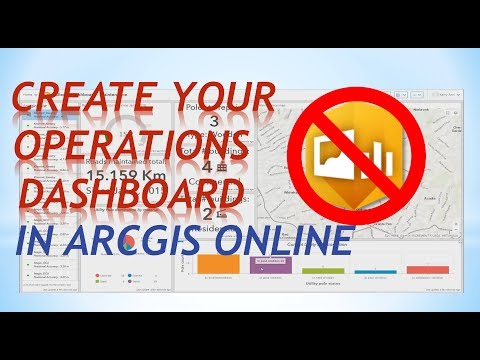 Creating your Operations dashboard for arcgis online from scratch