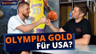 Holt USA Olympia Gold im Basketball? | SHOTS FIRED | C-Bas vs KobeBjoern