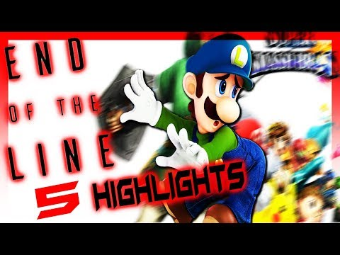 End of The Line 5 Highlights!! - SMASH 4