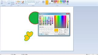 MS Paint - урок 1 за основни команди и инструменти