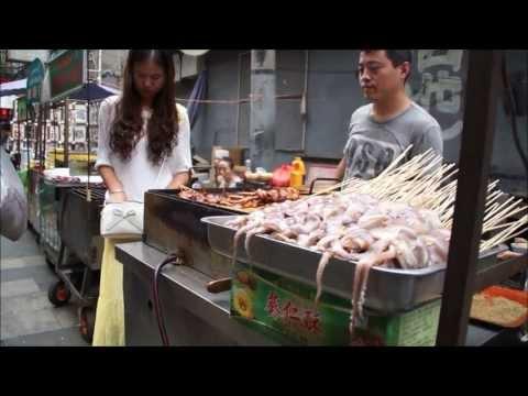 Muslim foodstreet Xi'an, China