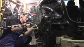 Кузовной ремонт. Опять ремонтируем Шевроле Круз. Body repair.(Body repair. Кузовной ремонт автомобилей в гараже. Подробности на моем сайте. http://remontkuzova.blogspot.ru/ Комментарии..., 2016-05-05T19:11:15.000Z)