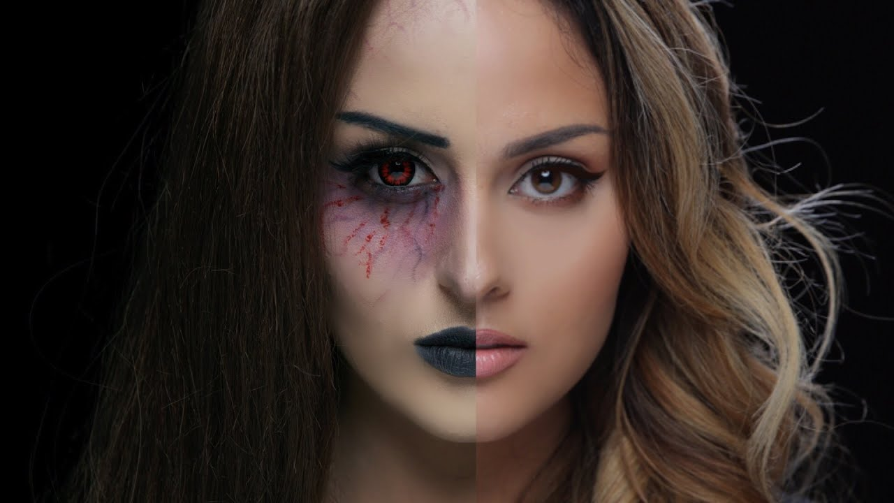 Vampire l Halloween Makeup Tutorial - YouTube