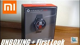 amazfit Pace Unboxing and Overview