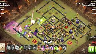 Clash of MU ! Брат 2 квинхил (Clash of Clans