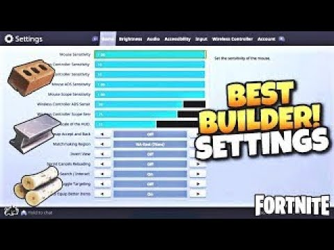 the new best settings in fortnite console xbox ps4 season 4 - what is the best settings for fortnite ps4