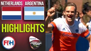 Netherlands v Argentina | 2018 Men's Hockey Champions Trophy 3rd Place Playoff | HIGHLIGHTS