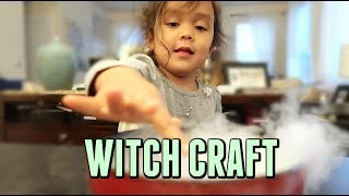TRYING WITCH CRAFT -  ItsJudysLife Vlogs