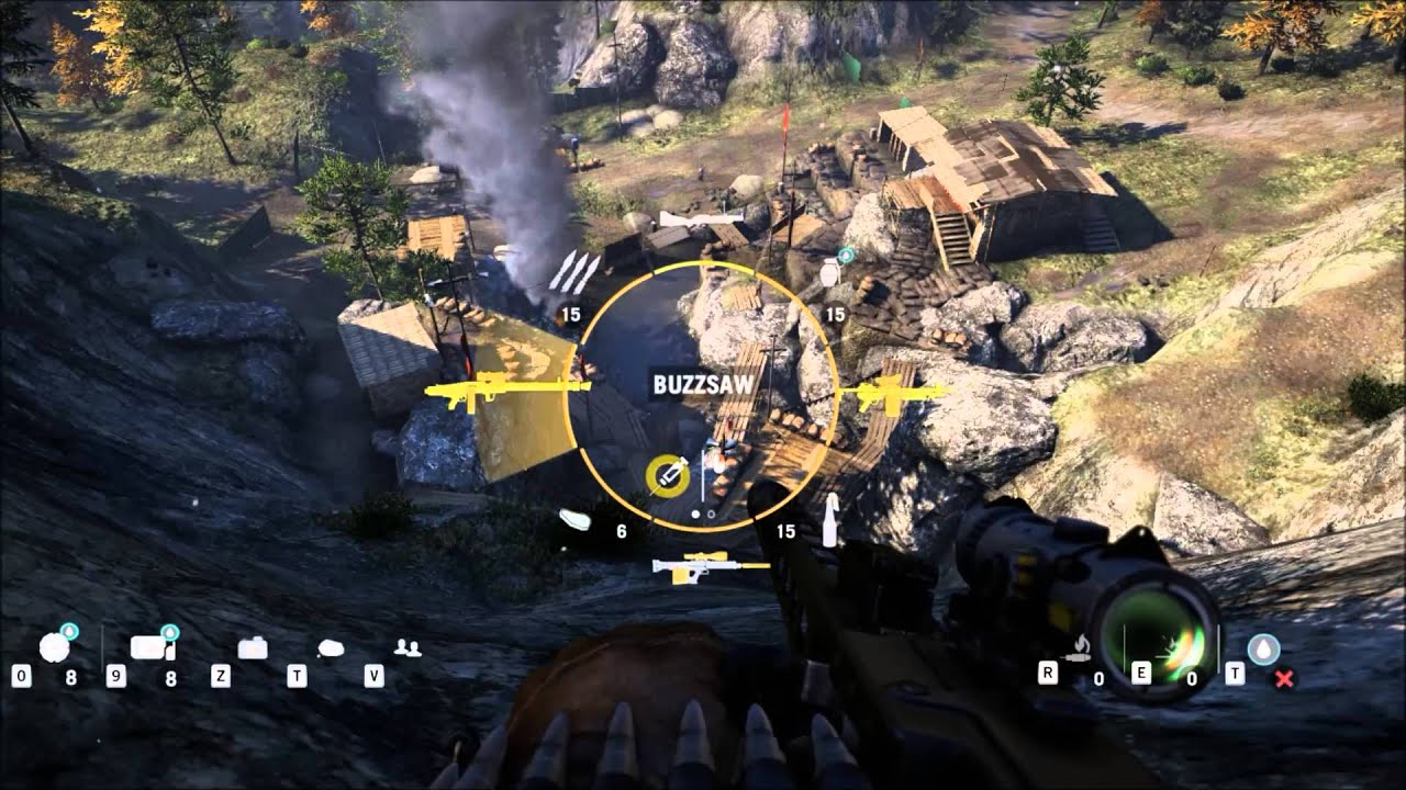 how to get the buzzsaw in far cry 4