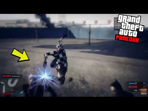 Insane Mega Electricity Parkour - GTA 5 Online Parkour