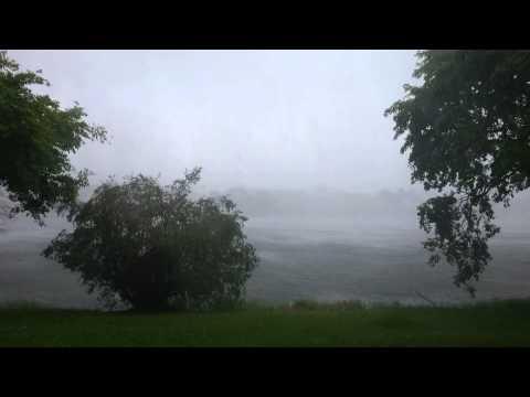 Thunderstorm In Miami. June 29 2015