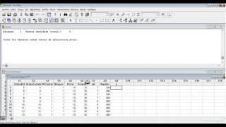 Identificación de las variables significativas. Diseño de experimentos (DoE)