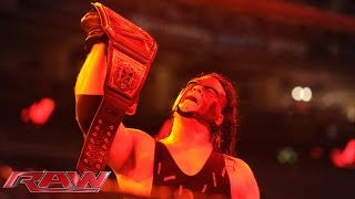 Kane undergoes a terrifying transformation on Raw: Raw, Sept. 28, 2015