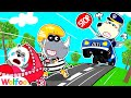 No No! Rescue Baby from Bad Guy - Police Wolfoo Pretends to Be A Parent   Wolfoo Family Kids Cartoon