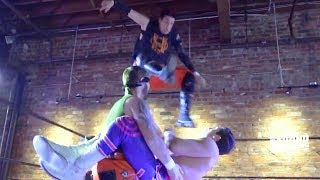 [Free Match] Cam Zagami & Brian Milonas vs. Da Hoodz | Beyond Wrestling 2/25/18 Powerbomb.TV PreGame