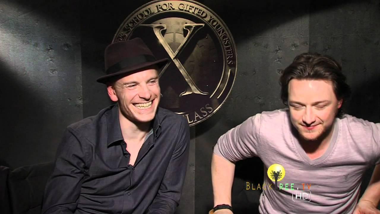 X-Men: First Class James McAvoy & Michael Fassbender as ...  X-Men: First Cl...