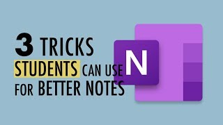 3 OneNote Tips for Students (plus one weird trick)