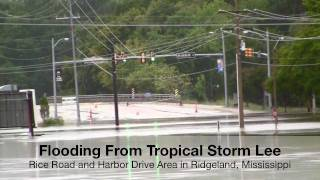 Tropical Storm Lee Brings Flooding, Weather Channel to Jackson, Mississippi