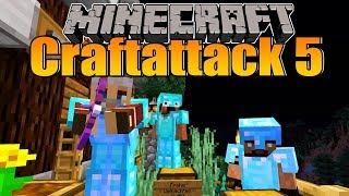 Ich wurde beklaut, geschlagen und abgeschossen! - Minecraft Craftattack 5 #50