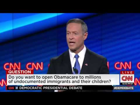 Martin O'Malley on Immigration Reform
