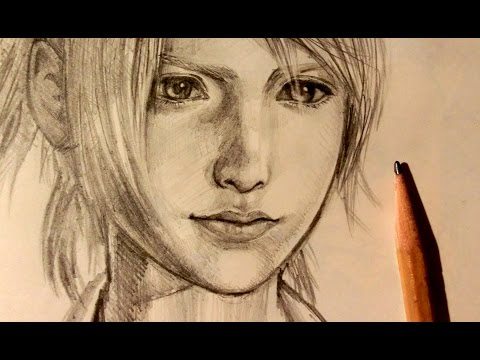 ASMR | Drawing 4 | Lunafreya (Request)