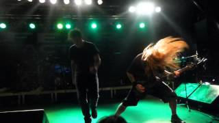 Fear Factory - New Messiah, Live @ Backstage Munich 28.11.2012