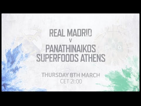 Game of the Week: Real Madrid - Panathinaikos Superfoods Athens