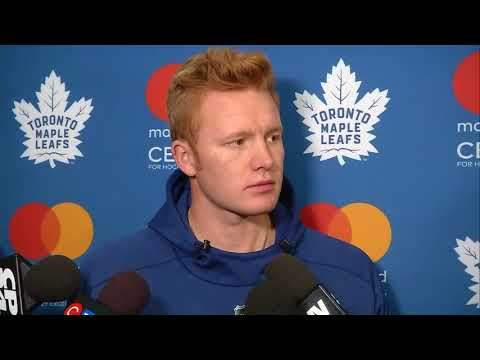 Maple Leafs Training Camp: Frederik Andersen - September 14, 2017
