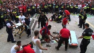 World Cup: Costa Rica celebrations marred by fan stabbings