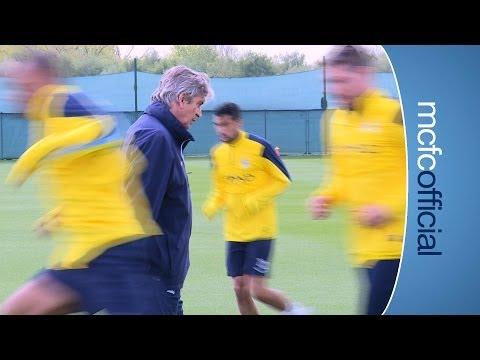 PELLEGRINI ON WINNING MENTALITY | Everton v City | Manuel Pellegrini press conference