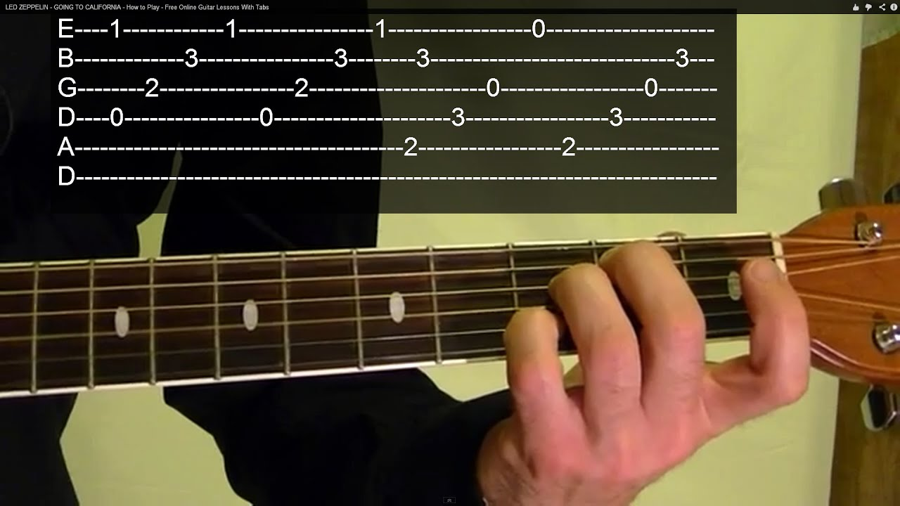 Guitar Lesson - METALLICA - Fade to Black - ( 1 of 3 ) With Printable Tabs - YouTube