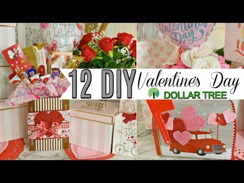 💖12 DIY DOLLAR TREE VALENTINE'S DAY GIFT IDEAS 💖