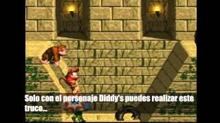 Como obtener vidas infinitas en Donkey Kong Country (SNES)