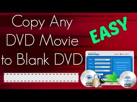 How To Copy DVD To DVD - Back Up DVD Movies