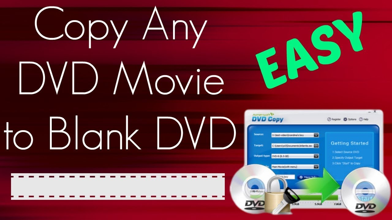how to copy a dvd to another dvd