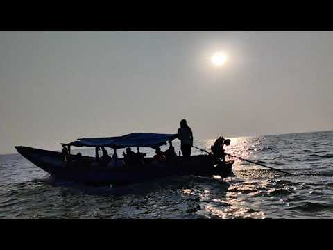 The sunset view point | Sailing Boat | Chilika lake |  Slow motion  @LC Vlogs