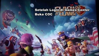 Cara Transfer Akun COC (Android ke iOS) dan Cara Mengatasi Unable to Connect to server Games Center