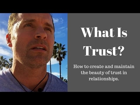 What is Trust? Building and Losing Trust + Belief and Loyalt