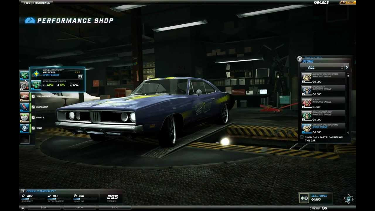 Need For Speed World Dodge Charger R T Youtube