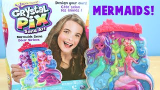 Crystal Pix Mermaid Sand Art Diy Crafts Toy Reviews For You