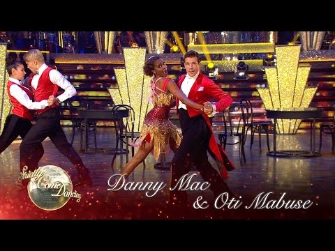 Danny Mac & Oti Charleston to 'Puttin' On The Ritz' by Gregory Porter  Strictly 2016: Blackpool