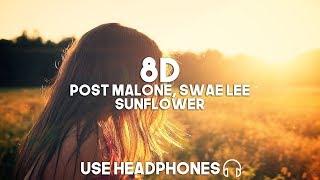 Post Malone, Swae Lee - Sunflower (8D Audio)