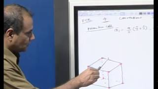 Mod-01 Lec-04 Crystal Structure, Reciprocal Lattice I