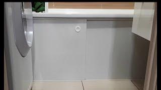 Экран для ванны работа над ошибками
