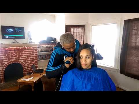 How To Properly Heat Train Natural Hair