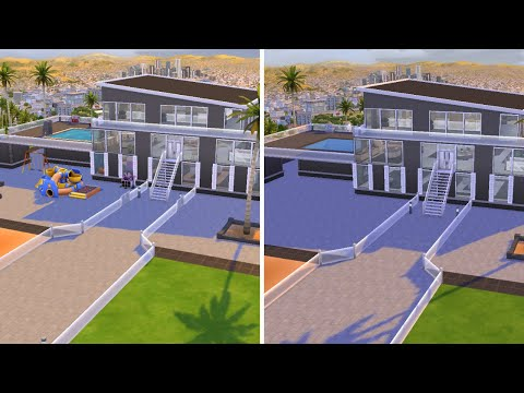 Chateau Peak // Renovating EA // The Sims 4: Speed build - YouTube