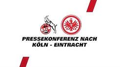 """""""Zwei verlorene Punkte""""   Pressekonferenz mit Hütter & Gisdol nach 1. FC Köln - Eintracht Frankfurt"""